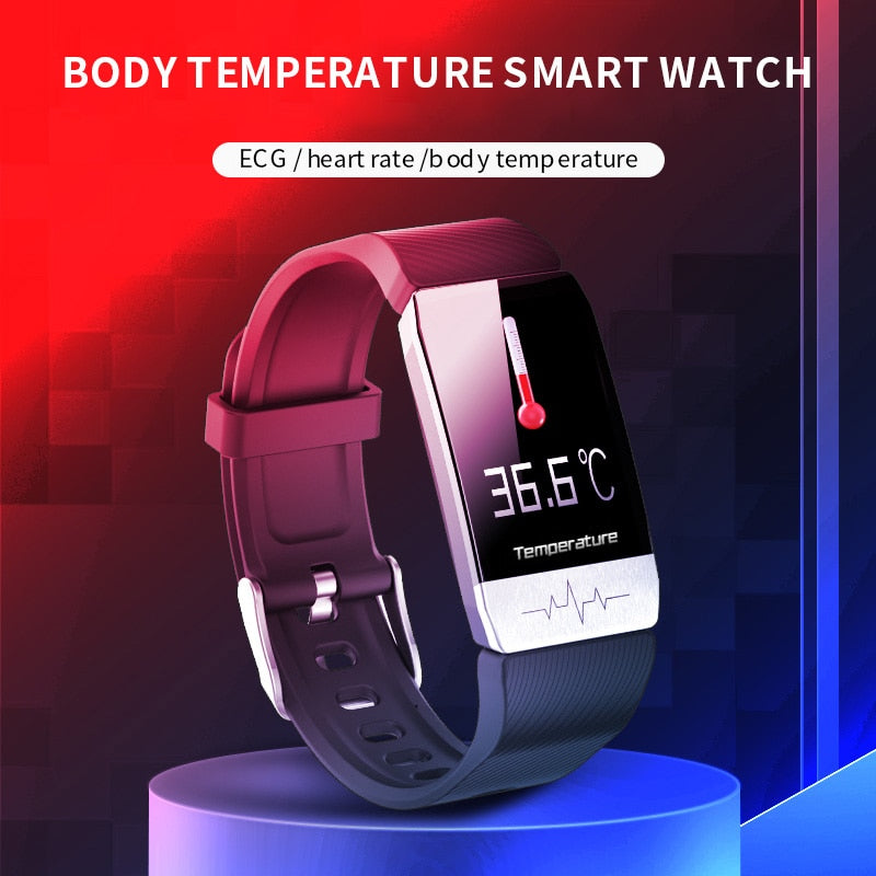 BumluvT12 Smart Pro™- Temperature/ECG/Blood Oxygen/Blood Pressure