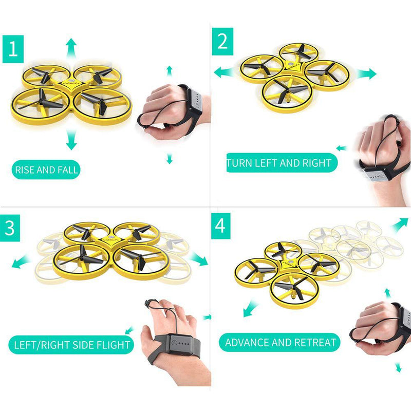 Bumluv™ | Interactive LED Hand Induction Drone