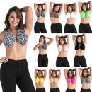 Comfort Solid Sweat Towel Bra