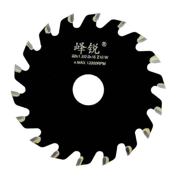 Mini Table Saw Blade 63mm 80mm 12000rpm Type-T tooth Alloy Saw Blade for Wood Plastic Acrylic ABS Plywood Bakelite Cutting