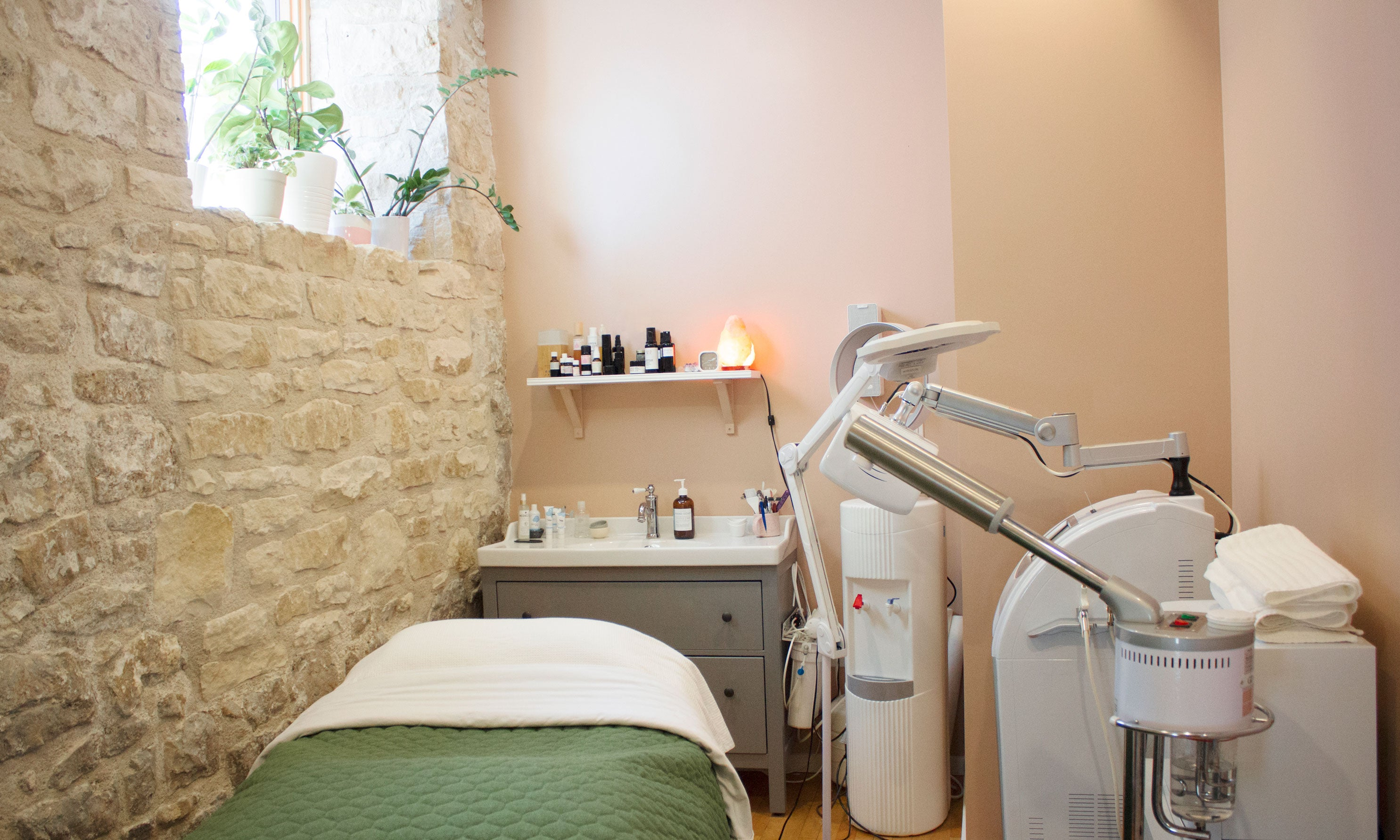 Holistic Facial Spa Room Guelph