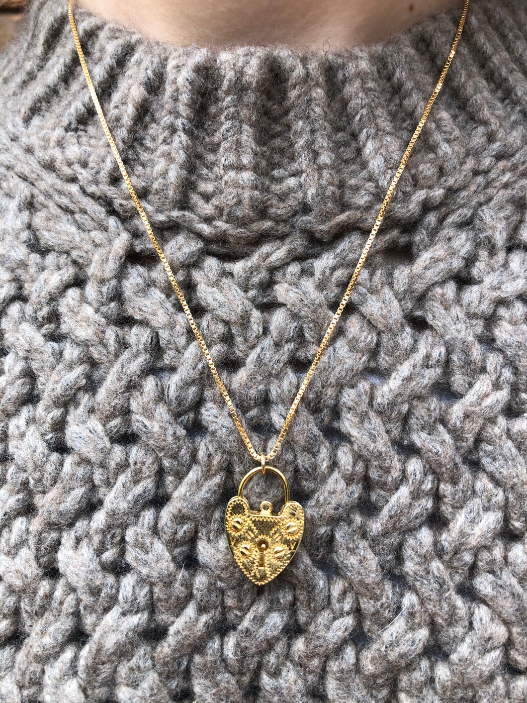 Lovelock Necklace | Gold