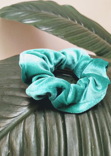 *Limited Edition* Green Gloss Scrunchies