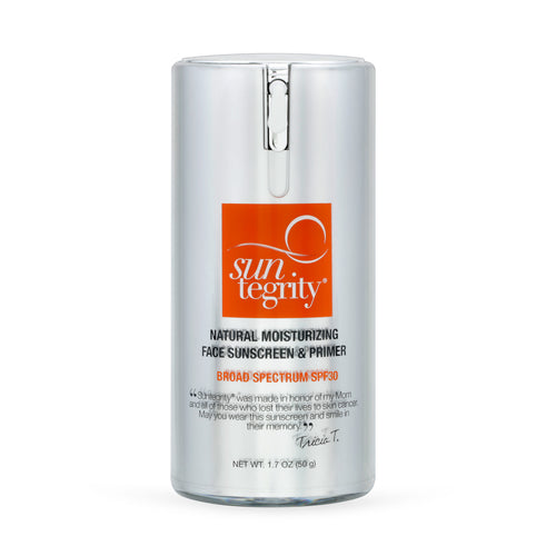 UN-TINTED Natural Moisturizing Face Sunscreen & Primer SPF 30