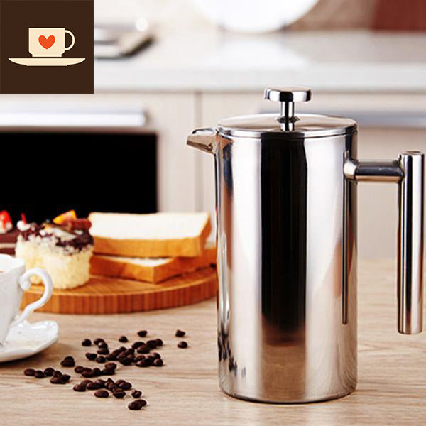 French Press - Stainless Steel
