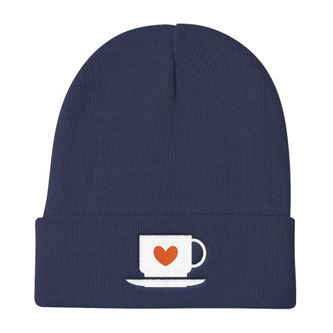 Coffee Lovers Knit Beanie