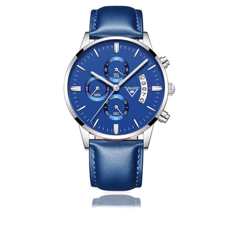 Otis • Blue Dial/Blue Leather