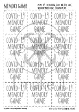 Load image into Gallery viewer, COVID-19 Memory Game