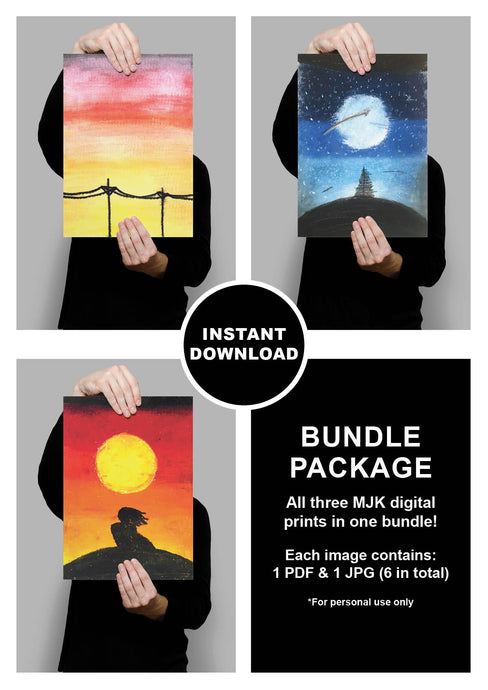 MJK Paintings Bundle Package