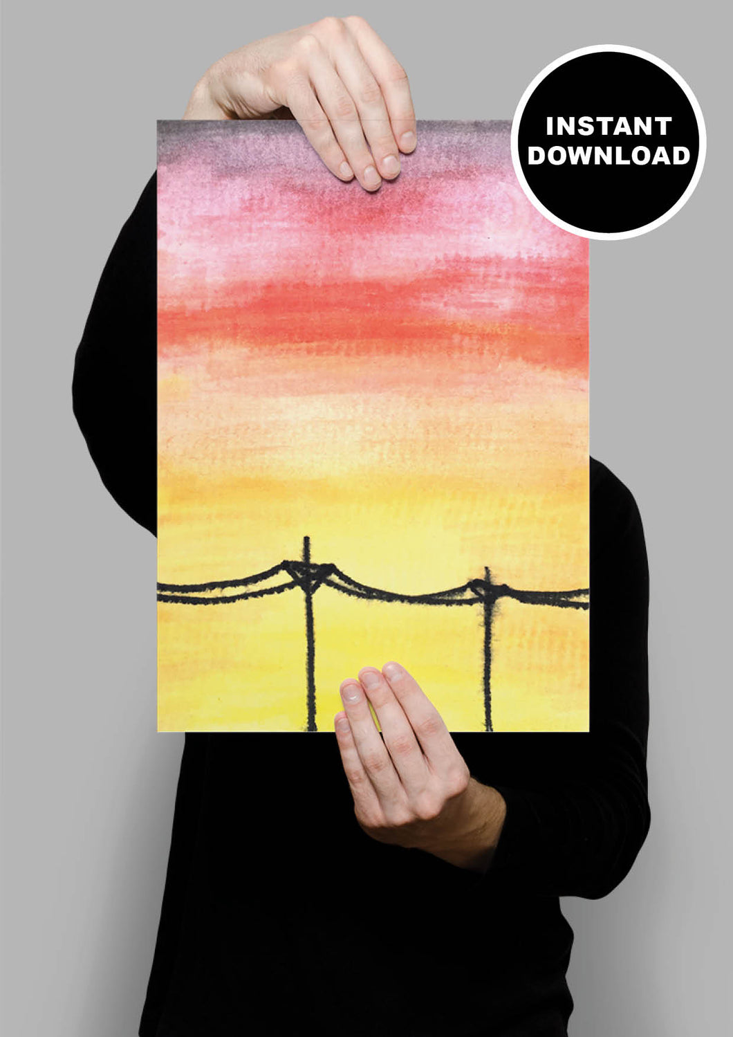Powerlines Print