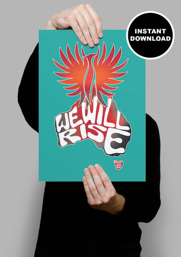 We Will Rise Print