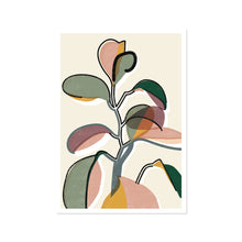 Load image into Gallery viewer, Baby Rubber Plant II Art Print