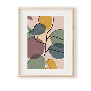 Baby Rubber Plant No.1 Art Print