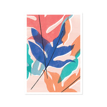 Load image into Gallery viewer, Blue Star Fern Pink Art Print