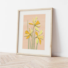 Load image into Gallery viewer, Daffodil Art Print