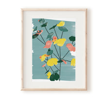 Load image into Gallery viewer, Euphorbia Blue Art Print