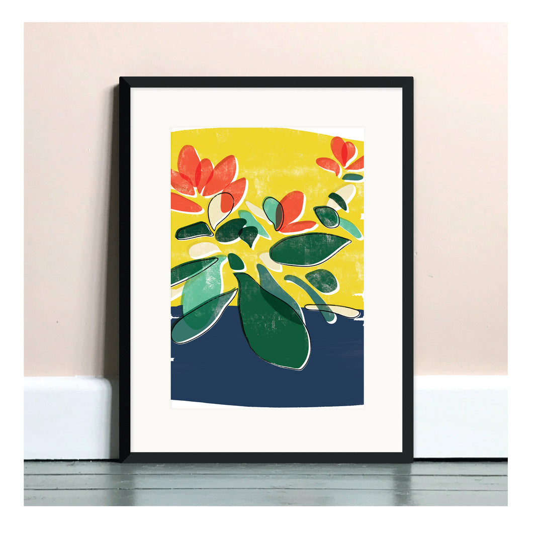 Money Plant A4 Art Print