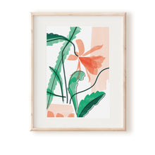 Load image into Gallery viewer, Orchid Cactus Art Print