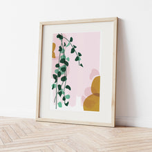 Load image into Gallery viewer, Peperomia Art Print