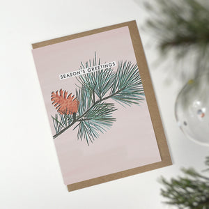 6 Recycled Christmas Cards - Mixed Pack