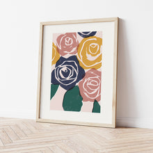 Load image into Gallery viewer, Rose Art Print
