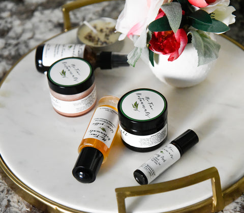 Me Time Botanicals multi-tasking skincare for glowing clear skin