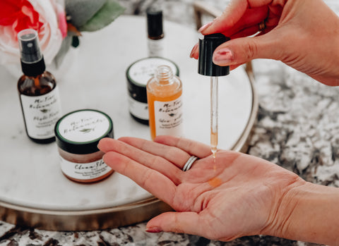 Me Time Botanicals Glow Getter for youthful glow acne prone, dry, sensitive and oily skin