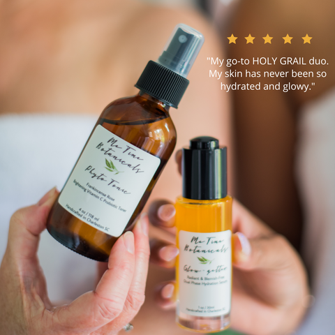 Phyto Tonic and Glow-getter dry skin hydration acne prone skin serum hydrating toner