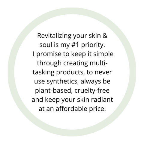 Revitalizing your skin is Me Time Botanical's number one priority