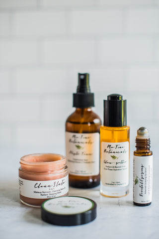 multi-tasking skincare by Me Time Botanicals for acne prone skin