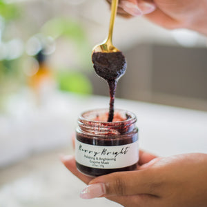 Me Time Botanicals Berry Bright Honey Enzyme Mask