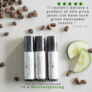 RevitalEyezing Advanced Correcting Eye Serum + Lash and Brow Enhancing Concentrate