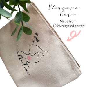 Skincare Case (Made from 100% Recycled Cotton)