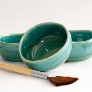 Handcrafted Masking Bowl & Brush