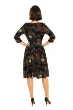 "Load image into Gallery viewer, ""Emma"" Black Multi-Floral"