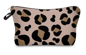 Animal Print Small Makeup Bag