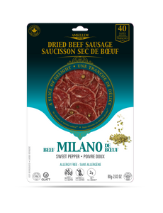 Saucisson sec POIVRE DOUX / Dried Salam SWEET PEPPER