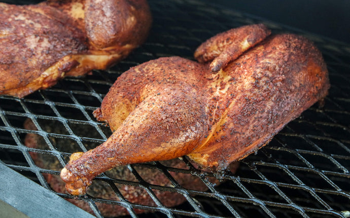 Poulet Fumée / Smoked Chicken (3-5 pers)