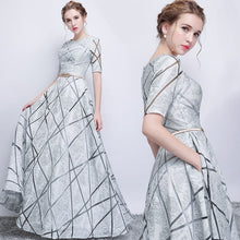 Load image into Gallery viewer, Summer Dress Elegant Sexy Banquet Evening Formal Long Party Dress Casual Slim Ball Gown Maxi Dress