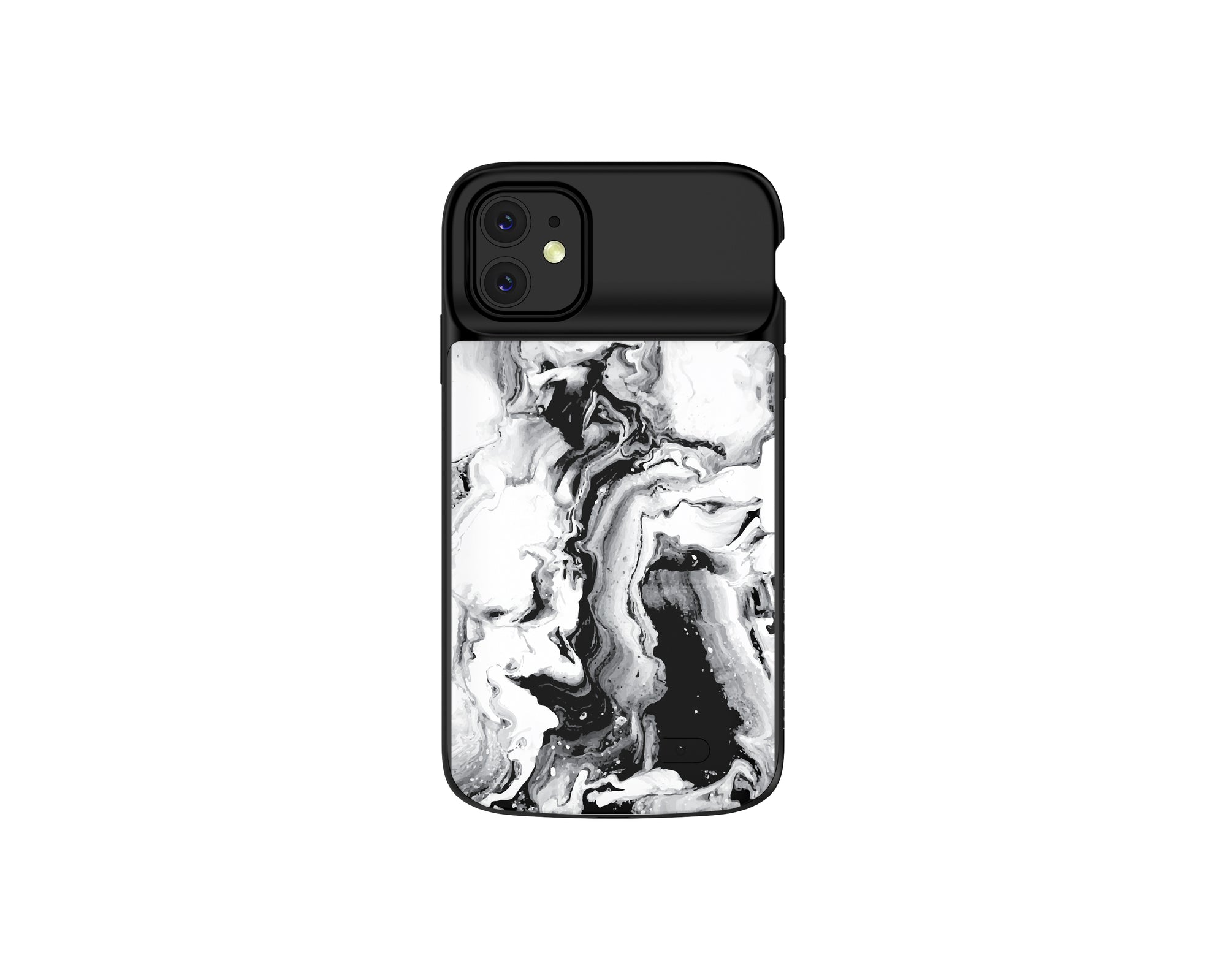 iPhone 11 B&W Marble