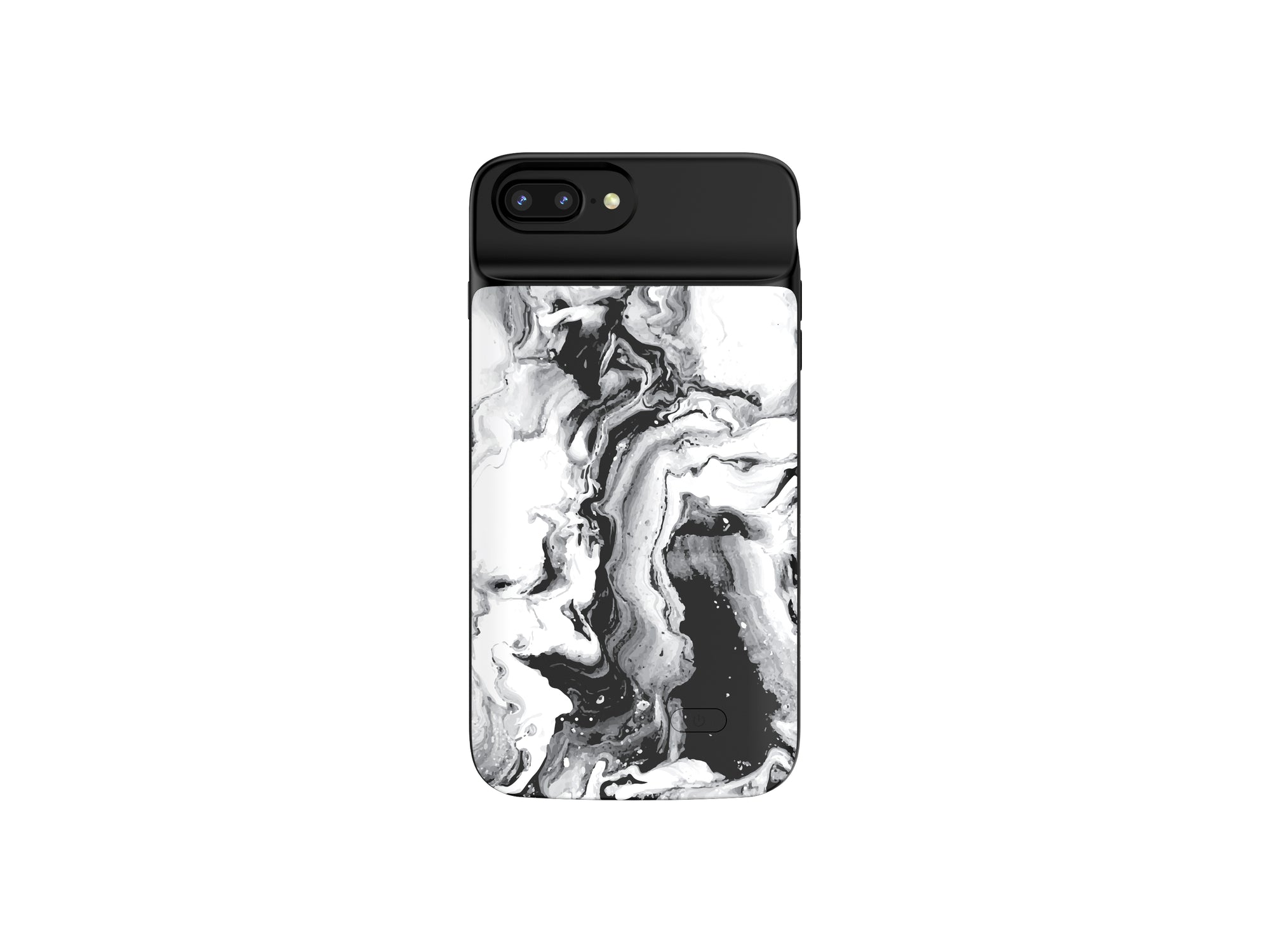 iPhone 6/6s/7/8 (PLUS) B&W Marble