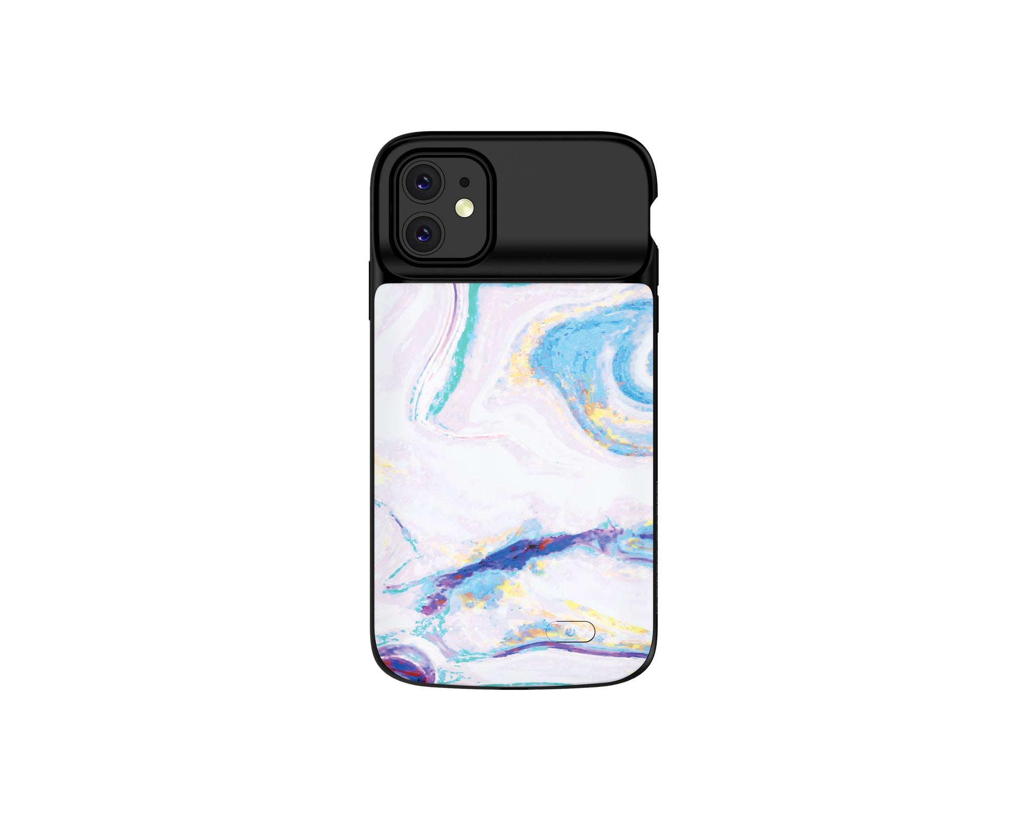 iPhone 11 Mosaic Color Marble