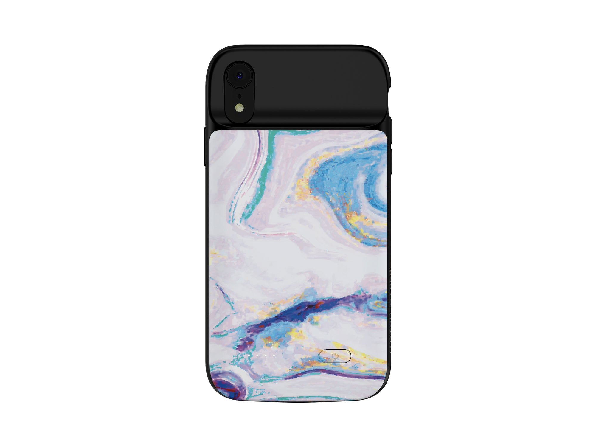 iPhone XR Mosaic Color Marble