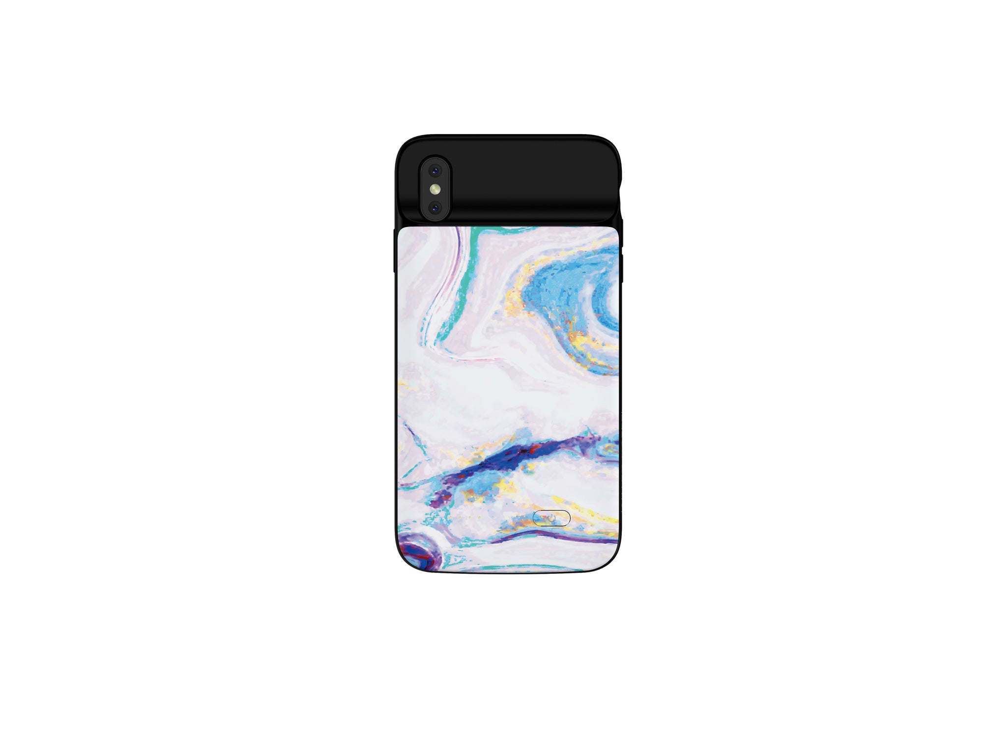 iPhone XS Max Mosaic Color Marble