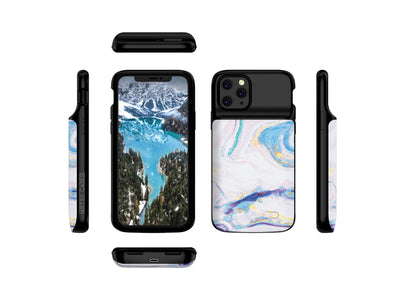 iPhone 11 Pro Mosaic Color Marble