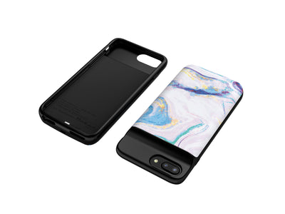 iPhone 6/6s/7/8 (Plus) Mosaic Color Marble