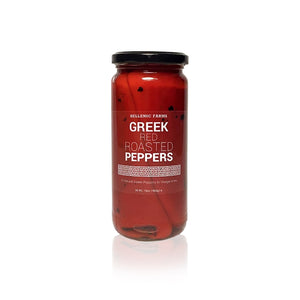 Greek Red Roasted Peppers - Olive Grove Market