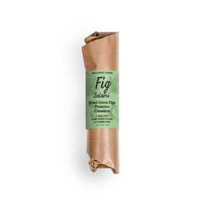 Fig Salami with Cinnamon & Pistachio - Olive Grove Market
