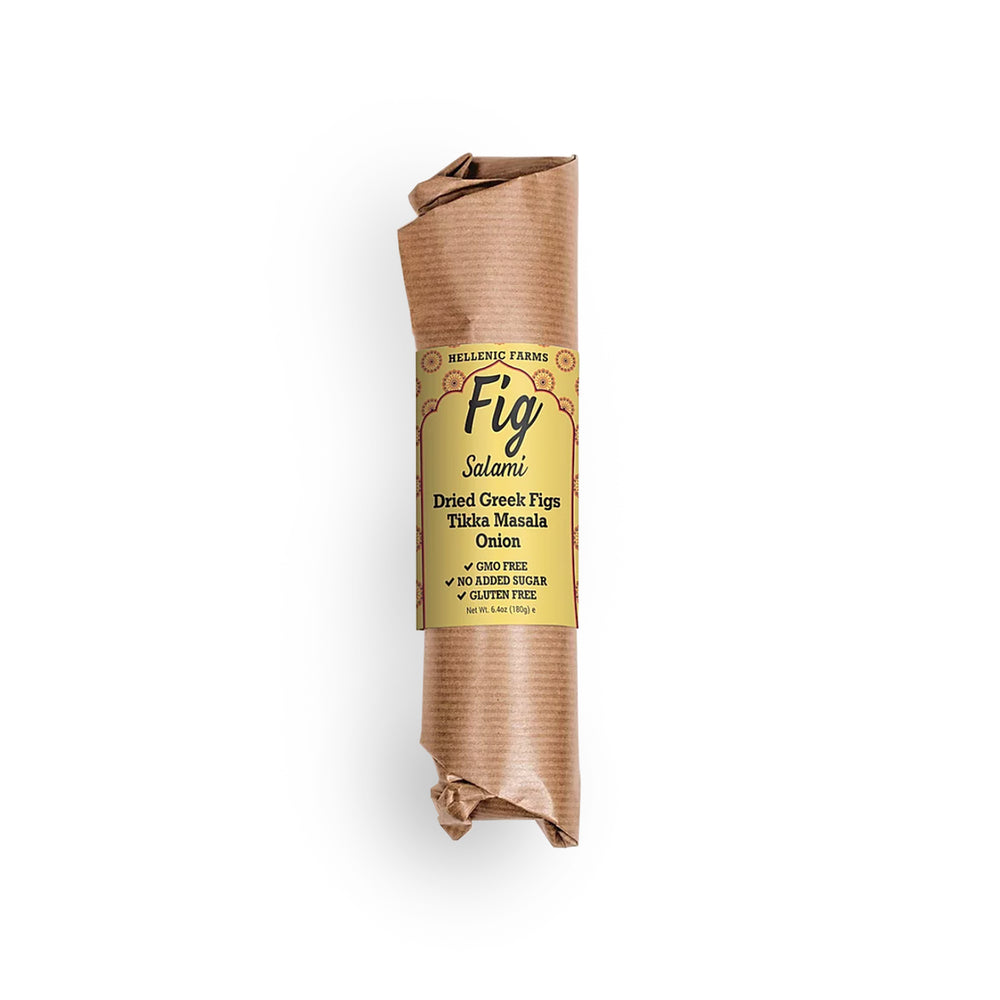 Fig Salami with Tikka Masala - Olive Grove Market-HELLENIC FARMS-Fig Salami