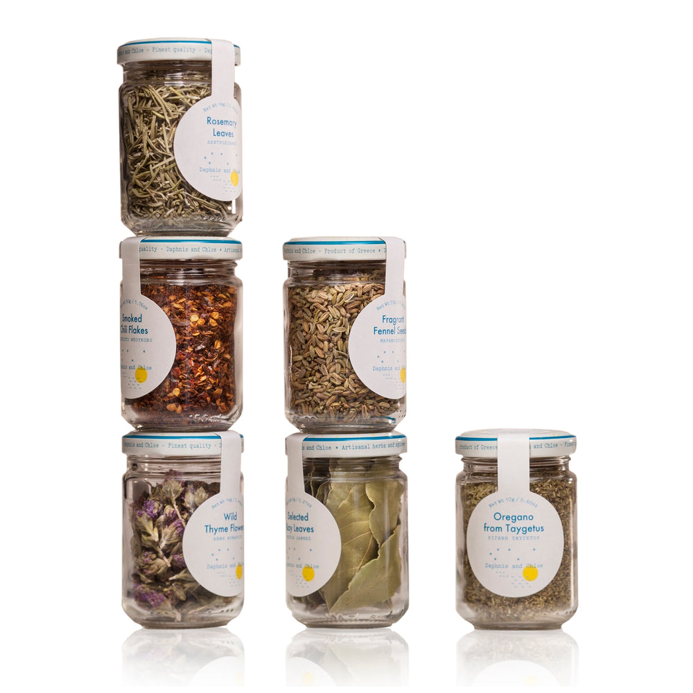 Mediterranean Herb Gift Set - Olive Grove Market-DAPHNIS AND CHLOE-Herb/Spice/Tea